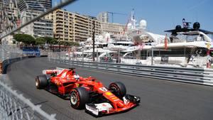 Sebastian Vettel Monaco