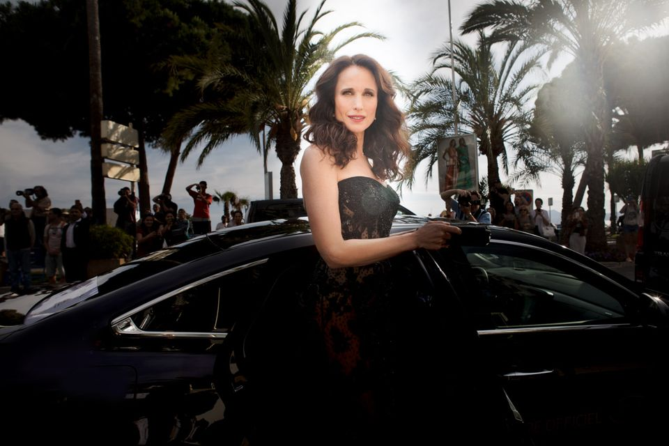 Glamouröser Auftritt mit 57 Jahren: Andie Mac Dowell auf dem roten Teppich in Cannes