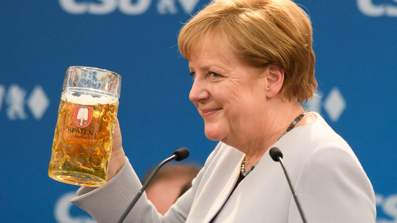 Angela Merkel hat die Europäer aufgerufen, ihr Schicksal selbst in die Hand zu nehmen