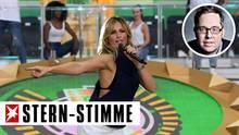 Der Auftritt von Helene Fischer beim DFB-Pokalfinal sorgt für reichlich Diskussionsstoff