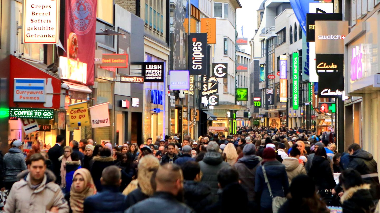 Verkaufsoffener Sonntag in Köln