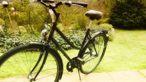 Kein Sportrad, aber für die Stadt gut geeignet.
