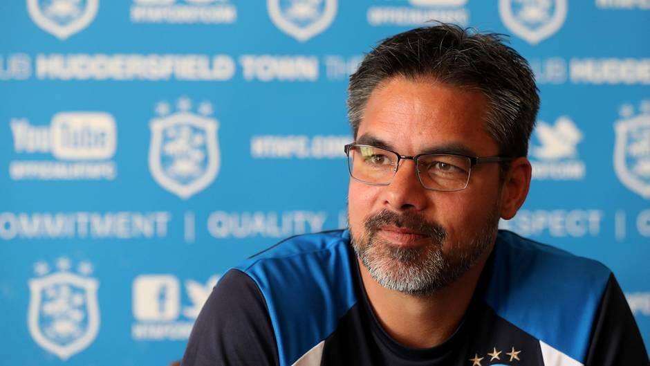 Huddersfield Town-Trainer David Wagner