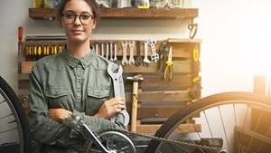 Vor einem Rad-Service muss man keine Angst haben, wenn das wichtigste Werkzeug vorhanden ist.