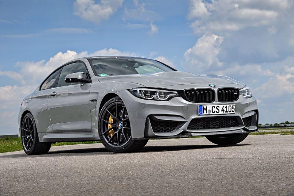 BMW M4 CS - der Auftritt ist alles andere als aufdringlich