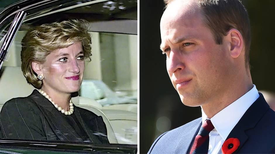 GQ-Magazin: Prinz William gibt rührendes Interview über Lady Di