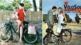 Filmstars wie die Bardot machten die Velosolex berühmt.