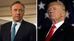 Frank Underwood Donald Trump