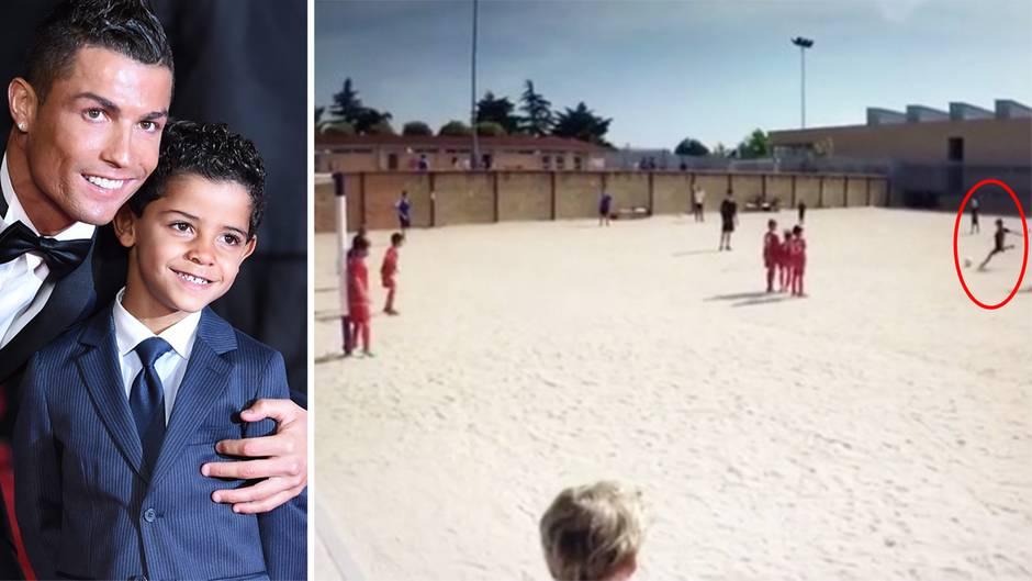 Ronaldo Junior schießt jetzt schon bessere Freistöße als Papa