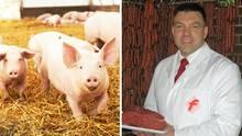 Holger Buss ist Fleischermeister
