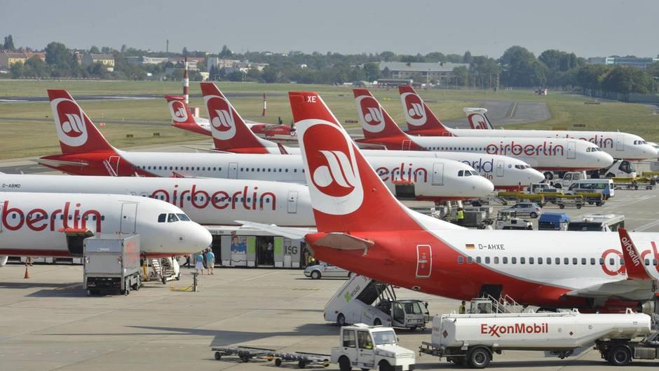 Auch an Pfingsten Flugausfälle bei Air Berlin