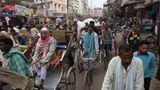 Rickshaw-Fahrer warten auf Kundschaft
