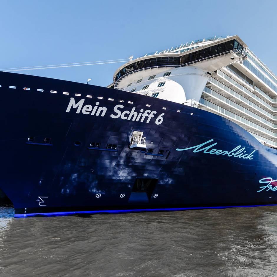 Mein Schiff 6 Taufe Warum Es Die Deutschen Aufs Wasser