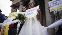 Amnesty International protestiert gegen die Kinderehe
