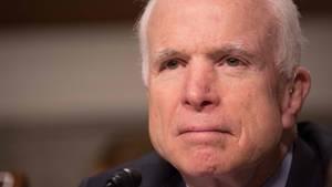 US-Senator John McCain findet für Russlands Präsident Wladimir Putin scharfe Worte.
