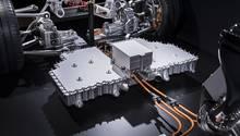 Mercedes AMG Project One Antriebsstrang - Batteriepaket mit Leistungselektronik