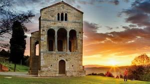 Das bedeutendste Bauwerk Preromanischen Sta.Madel Naranco