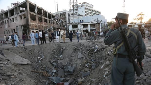 Explosion Lastwagenbombe in Afghanistans Hauptstadt Kabul