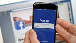 Facebook auf Smartphone