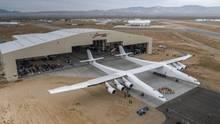 """Bis das Flugzeug """"Stratolaunch"""" abheben kann, muss es noch zahlreiche Tests bestehen"""