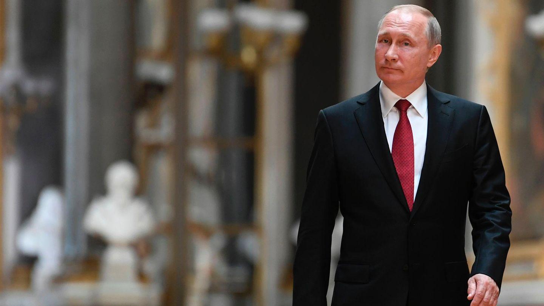 Wladimir Putin bei seinem Besuch in Versailles