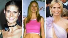 Heidi Klums Aufstieg am Modehimmel