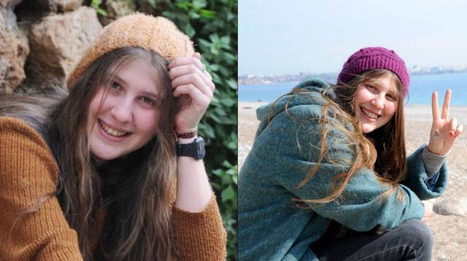 """Ayse Deniz Karacagil wurde als """"das Mädchen mit dem roten Schal"""" bekannt"""