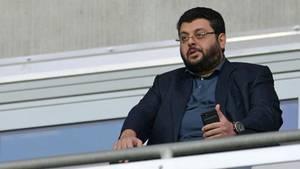An ihm hängt die Lizenz für die dritte Liga: 1860-München-Investor Hasan Ismaik