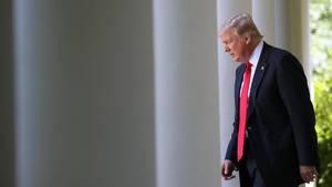 """US-Präsident Donald Trump findet das Pariser Abkommen """"unfair"""" für die USA"""