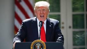 Donald Trump verkündet den Ausstieg aus dem Pariser Klimaschutzabkommen