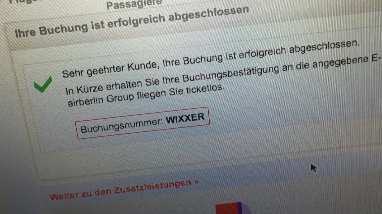 Air Berlin Rufnummer