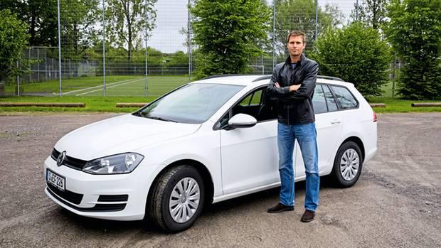 """""""Wer will denn jetzt so ein Auto kaufen?"""" Andro Broznic versuchte vergebens, seinen Golf loszuwerden."""