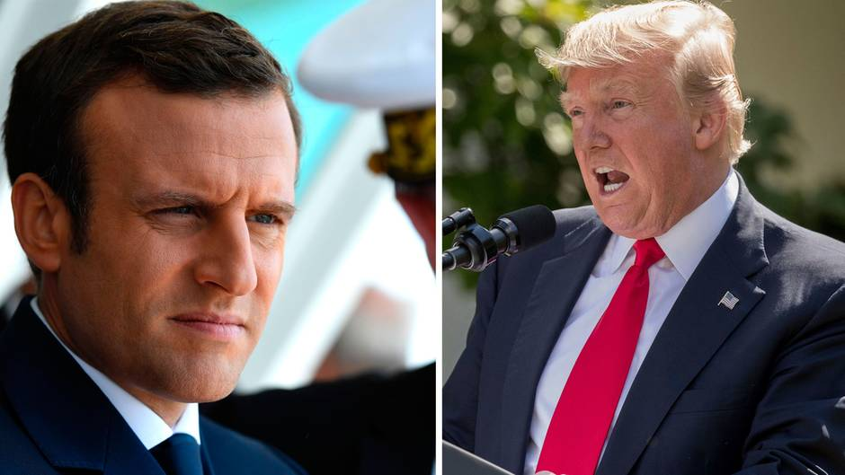 "Pariser Abkommen: ""Make our Planet great again"" - Macron watscht Trump wegen Klimaschutz ab"