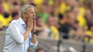 Lucien Favre wird seine Anweisungen auch in Zukunft bei OGC Nizza geben