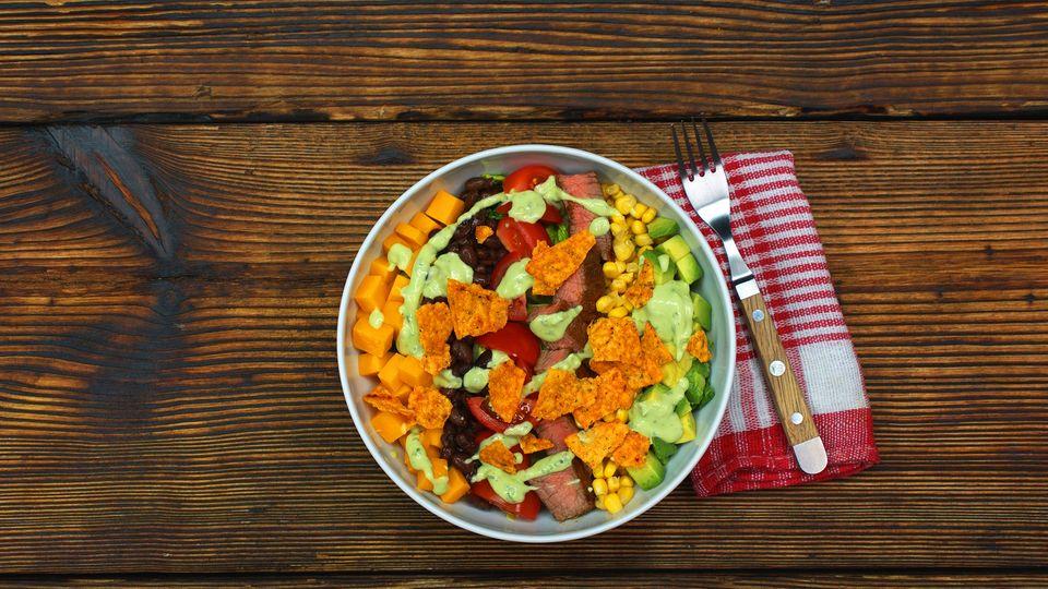 Salat mexikanischer Art