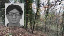 In diesem Waldstück bei Freiburg wurde die Leiche der vergewaltigten und ermordeten Joggerin gefunden