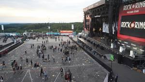 """Die Veranstalter erwarteten rund 90.000 Besucher zum dreitägigen """"Rock am Ring""""-Festival auf dem Nürburgring"""