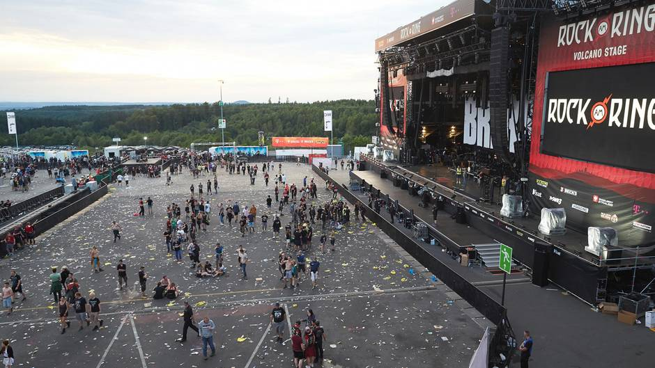 Besucher Rock Am Ring