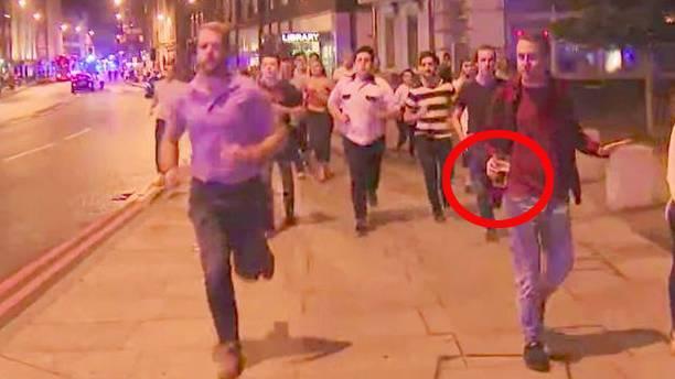 Terroranschlag: Londoner flieht mit Bier in der Hand - und wird dafür gefeiert