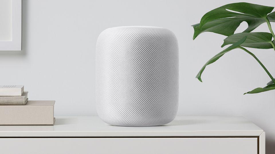 HomePod Apple Siri Lautsprecher WWDC