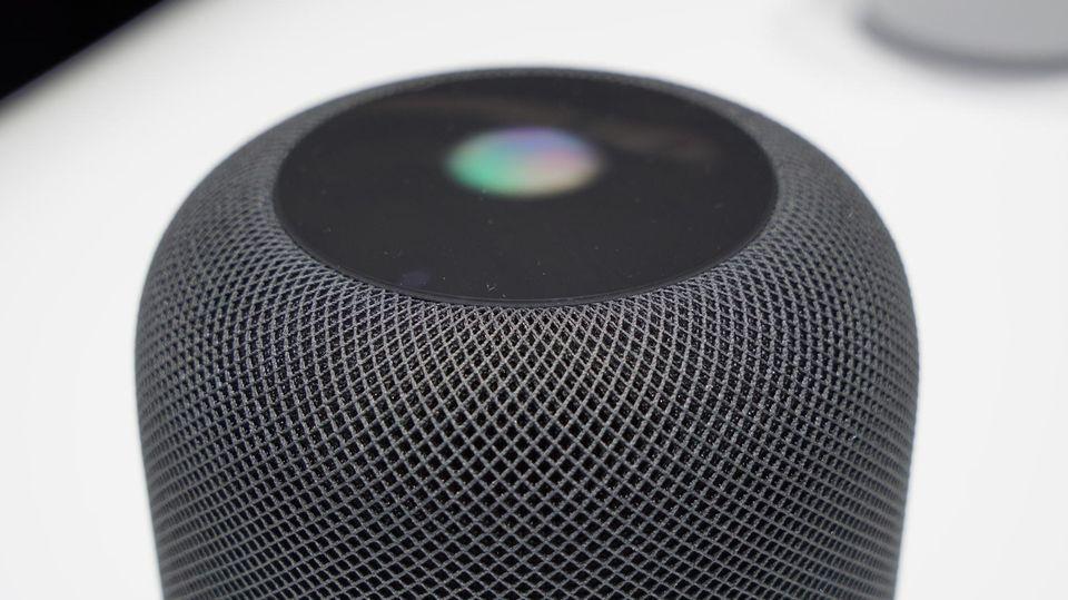 HomePod: Siri aus der Dose: Das kann Apples neuer Sprachlautsprecher
