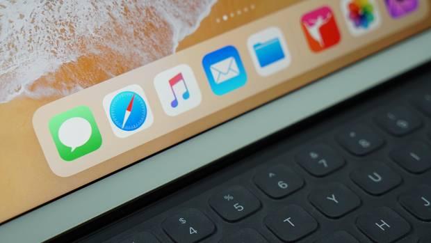 Das Dock auf dem iPad ist mit iOS 11 erweiterbar.