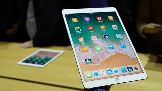 Das neue iPad Pro hat einen sehr schlanken Rahmen