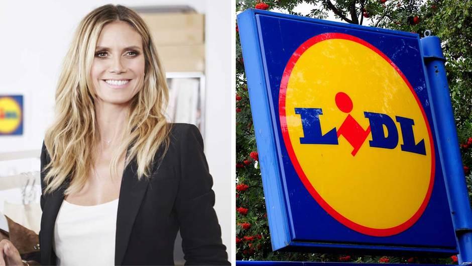 Heidi Klum verkauft bei Lidl Klamotten