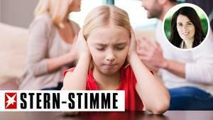 Kinder leiden unter der Scheidung