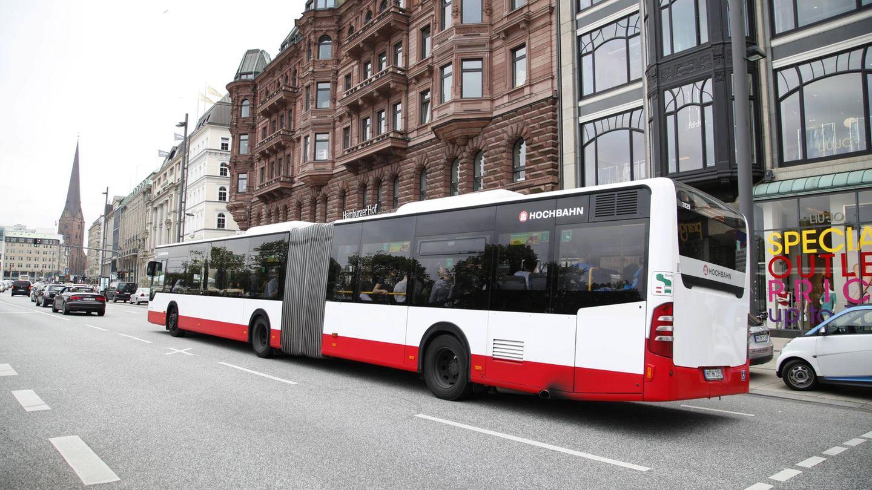 Ein ÖPNV-Bus in Hamburg