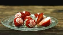 Gefüllte Erdbeeren - Rezept