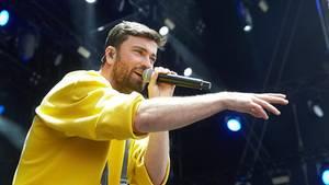 """Marteria beim """"Rock am Ring"""" Musikfestival in Nürnberg. Der Rapper stellt am Mittwoch seinen Spielfilm """"Antimarteria"""" vor."""