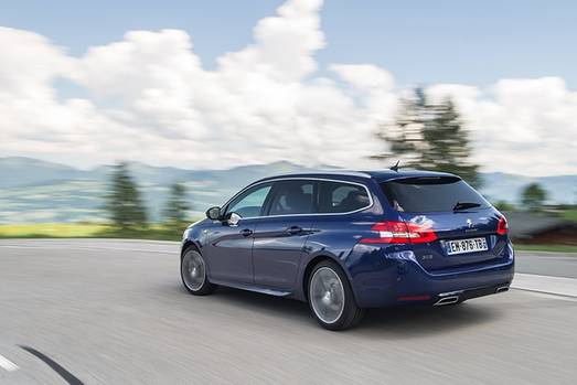 Peugeot 308 SW Blue HDI 130 - 200 km/h schnell