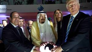 Donald Trump in Saudi-Arabien